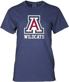 Official NCAA Arizona Wildcats U of A BEAR DOWN! Womens Crew Neck T-Shirt
