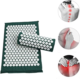 Anself Massager Cushion Acupressure Mat Relieve Stress Pain