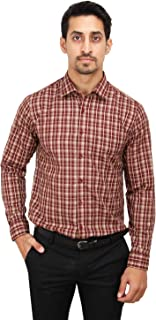 Maharaja Men's Wear Abstract Print Slim Fit Formal Shirt [18 Varients]