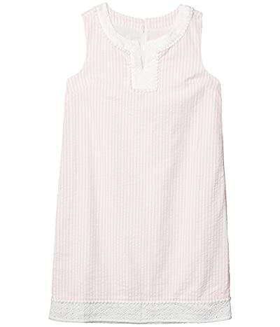 Vineyard Vines Kids Seersucker Shift Dress (Toddler/Little Kids/Big Kids) (Hibiscus) Girl