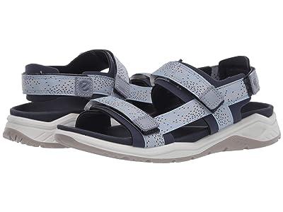 ECCO Sport X-Trinsic Strap Sandal (Marine/Dusty Blue) Women