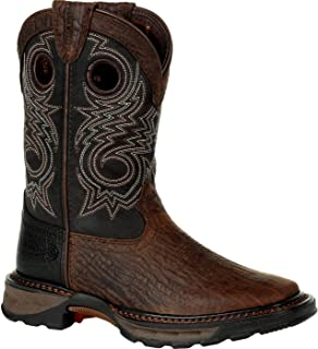 Durango Lil Maverick XP Big Kid's Black Western Boot