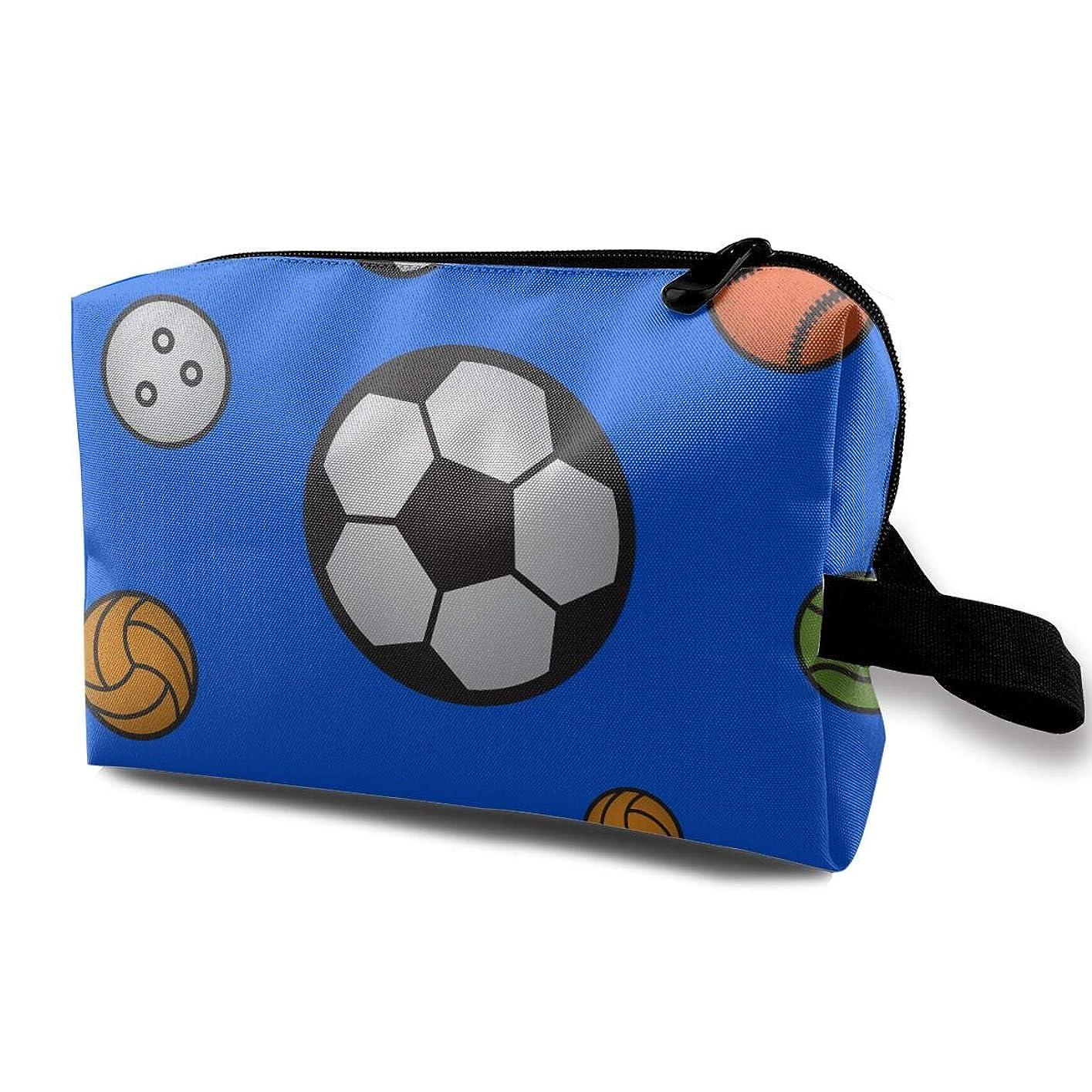 段落細い文法LEIJGS スポーツボールパターン 小型 旅行用トイレタリーバッグ 超軽量 トイレタリーオーガナイザー 一泊旅行バッグ用