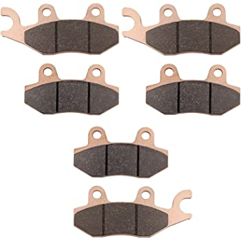 Brake Pads fit fits Can-Am Commander XT 800R 2012-2019 Front /& Rear by Race-Driven