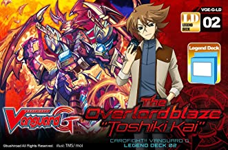 Cardfight Vanguard G Legend Deck 2 The Overlord Blaze Toshiki Kai