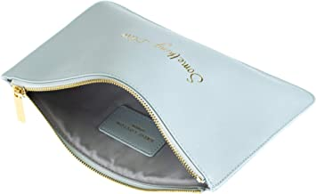 Katie Loxton Perfect Pouch Pale Something Blue Women's Faux Leather Clutch Perfect Pouch