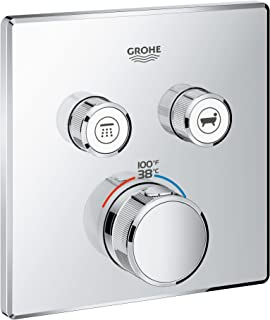 Grohe 29141000 Grohtherm SmartControl Thermostatic Trim, StarLight Chrome