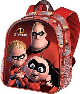 Los Increíbles Incredibles-Mochila 3D (Pequeña)