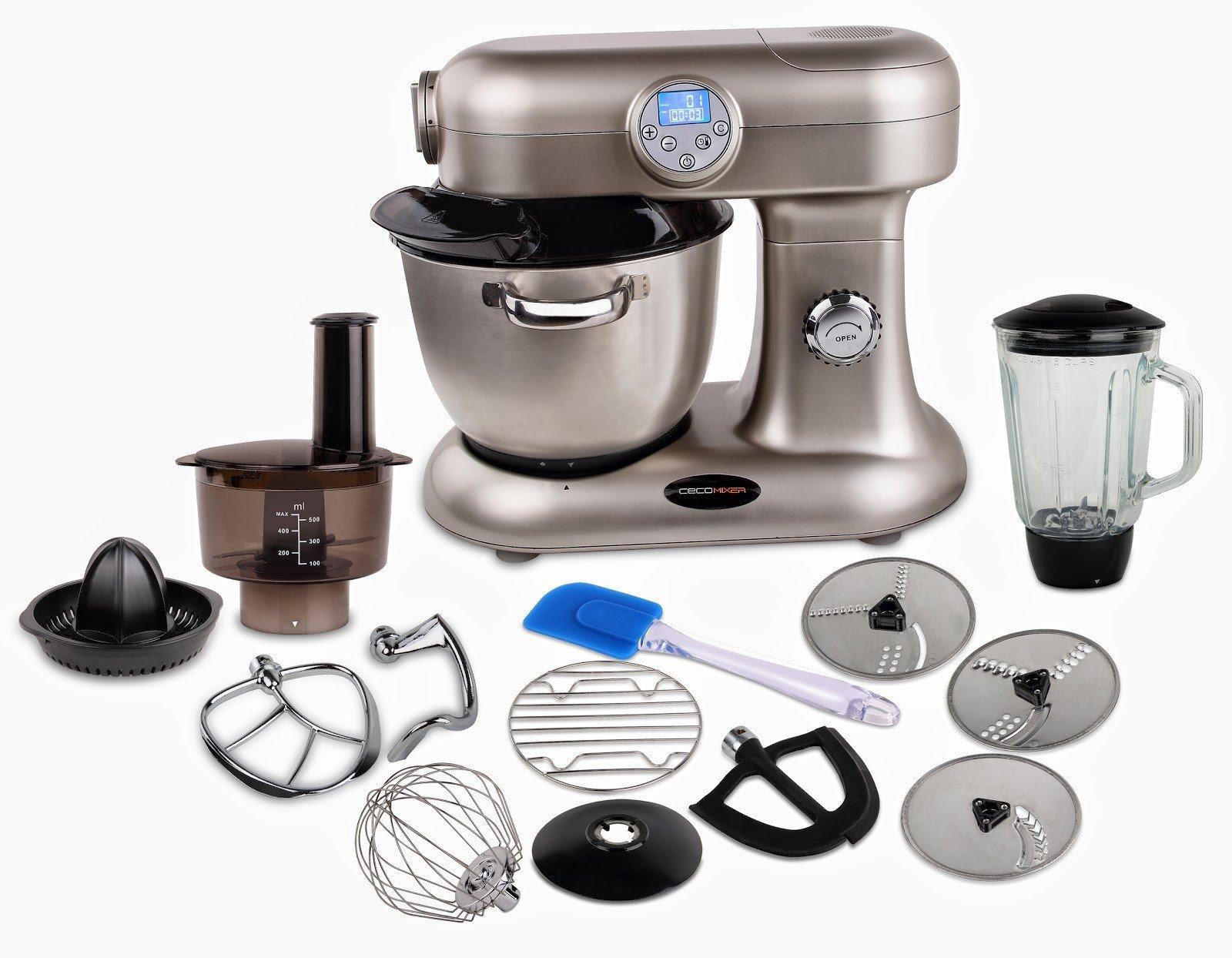 Cecomixer Robot de Cocina programable tambien cocina al vapor y ...