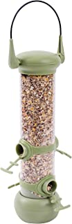Petface 70015DS2 LokTop 4 Port Seed Feeder for Birds,