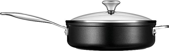 Le Creuset Toughened Nonstick PRO Saute Pan With Glass Lid, 4.25 qt.