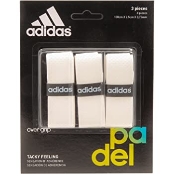 adidas Pádel OV - Set overgrip, Color Blanco, Talla única: Amazon ...