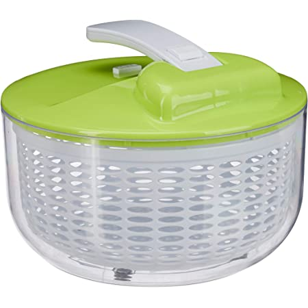 amarillo, 3,5 L Centrifugadora para ensalada seca verduras Tosend