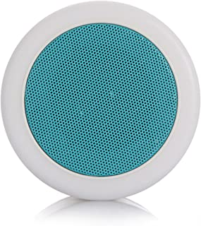 Premium Wireless Stereo BT Speaker Box 7-Color LED Desk Bed Lamp Eyes Protection Hands-free TF Card for iPhone Samsung iPad ABS Metal