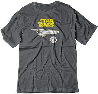 Men's Star Wars No 1 Fan Star Trek Enterprise Funny Shirt