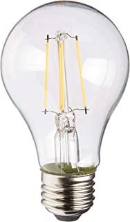 Satco S9894 Medium Bulb in Light Finish, 4.13 inches, Clear