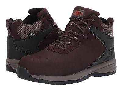 Merrell Work Windoc Mid Leather Waterproof Steel Toe (Brown) Men