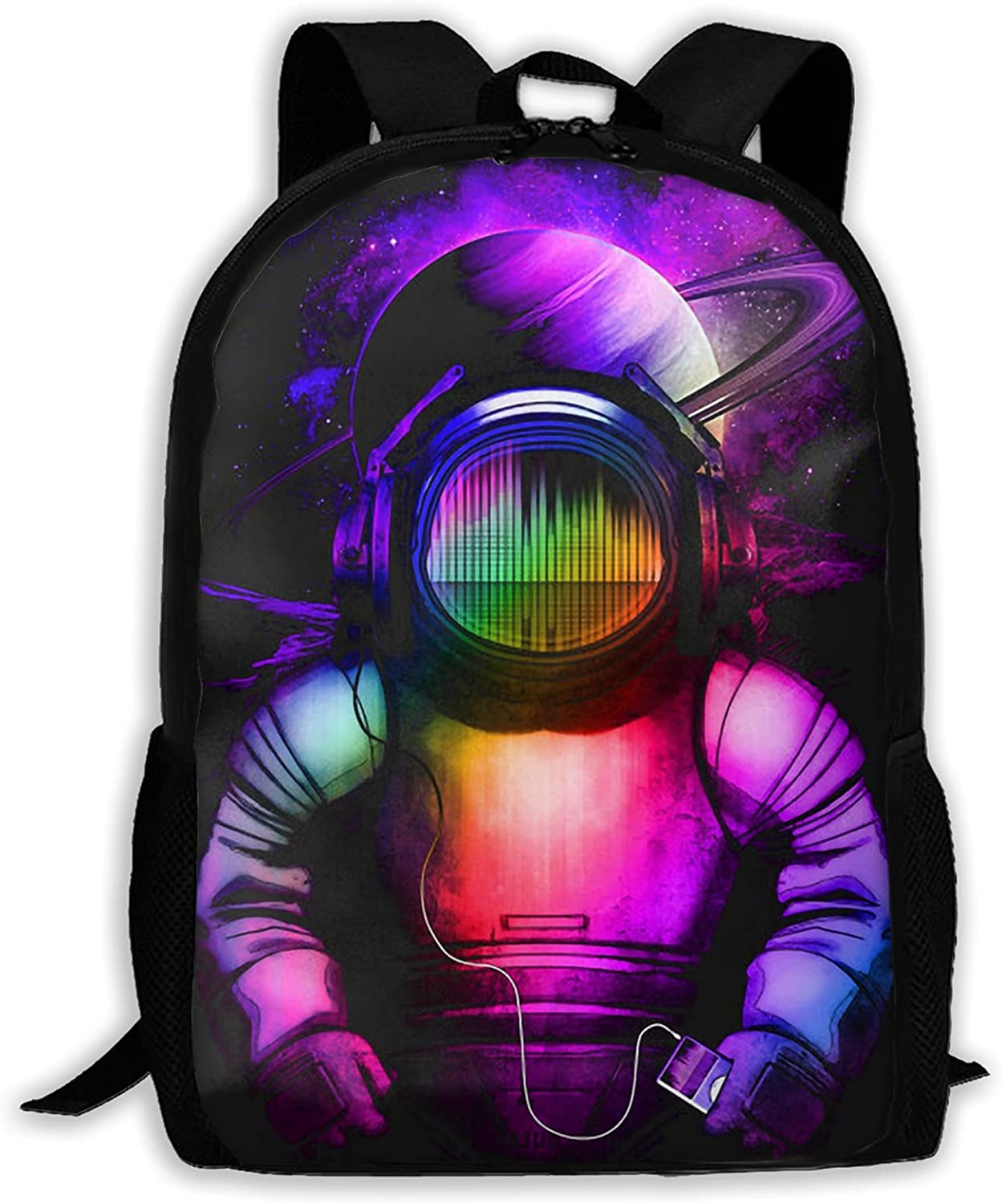 Astronaut Printed Backpack Teen Boys Free shipping 1 Laptop Free shipping New Girls And