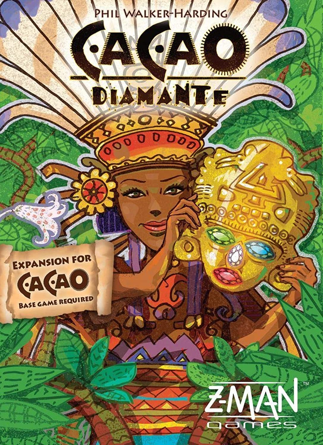 Cacao  Diamante Expansion Tile Game
