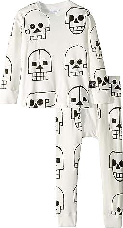 Skull Robot Loungewear (Toddler/Little Kids)