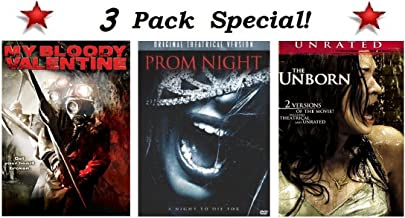3 Pack Special! My Bloody Valentine (Widescreen), Prom Night (Widescreen Original Theatrical Version) and The Unborn (Widescreen Unrated and Includes 2 Versions of the Movie!)