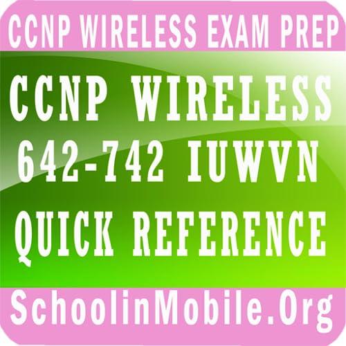 CCNP sem fio 642-742 IUWVN Referência