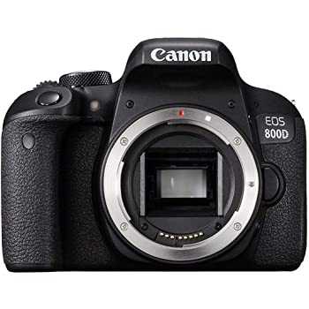 Canon EOS 800D Digital SLR Camera Black (Renewed)
