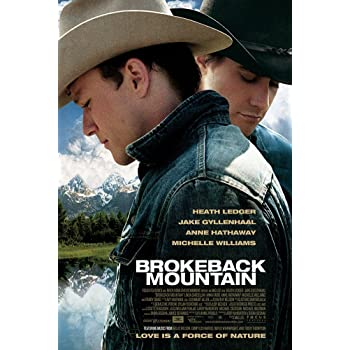 "Brokeback Mountain Movie Poster - Size 24"" X 36"" - This is a Certified Poster Office Print with Holographic Sequential Numbering for Authenticity."