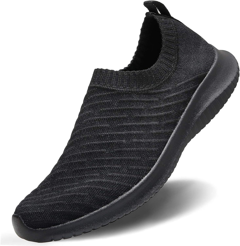 MAIITRIP Womens Comfort Elastic Sock Slip On Walking Shoes Light