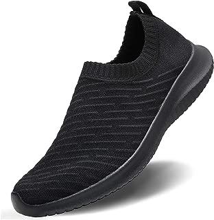 MATRIP Womens Comfort Elastic Sock Slip On Walking Shoes Lightweight Non-Slip(Size:6.5-11)