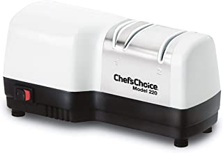 Chef'sChoice 0220100 Electric Knife Sharpener, 2-Stage, White