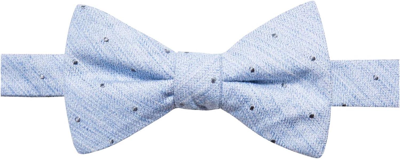 Ryan Seacrest Distinction Lolan Dot Pre-Tied Men's Silk Bowtie Blue Not Applicable