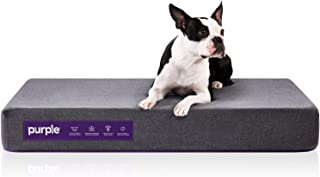Purple Animal Bed for Dogs and Cats and Breeds, Antimicrobial Pet Bed, High-Tech Pillow Pad for Pet Comfort, S M L