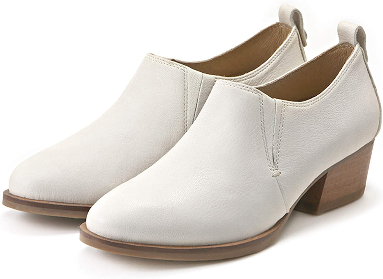 Bussola kvinnor Alameda Elastiska Shoots, Abby Ankle Boots med Wooden Heels Urburn Style