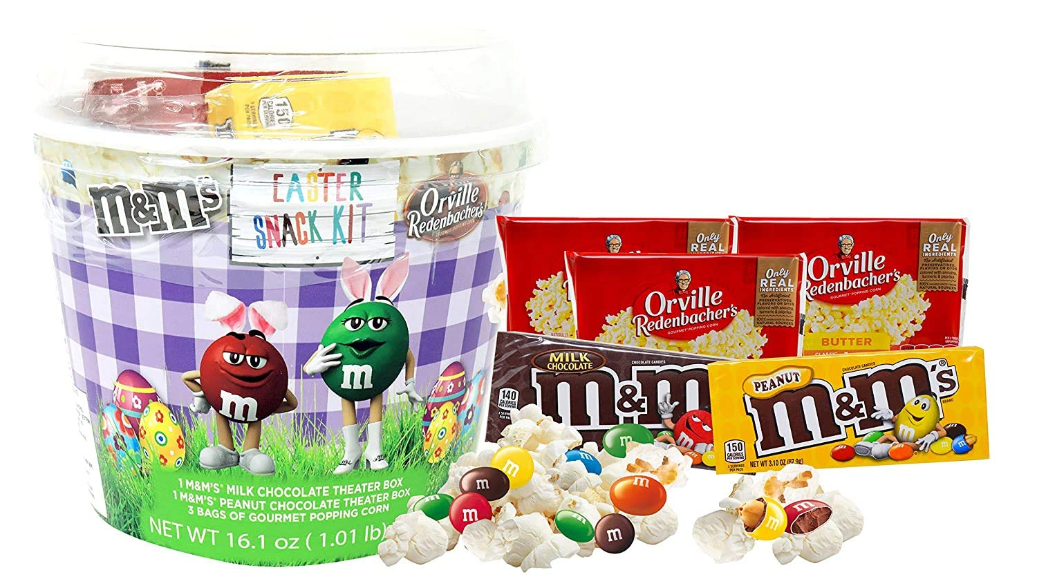 CandyRific New product type Easter Bucket Snack In stock for The Family 3 Mi Bags Classic