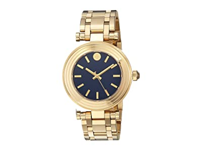 Tory Burch Classic T Bracelet Watch (Gold TBW9004) Watches