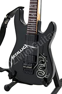 Miniature Guitar Metallica Black Custom ESP