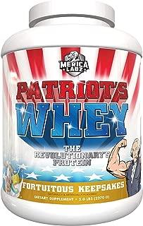 Merica Labz Patriots Whey - Fortuitous Keepsakes