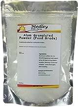 Medley Hills Farm Alum Granulated Powder (Food Grade) 1 lb