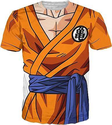 Noorhero - Camiseta de Hombre - Dragon Ball Armor Goku Z