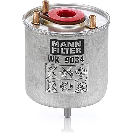 Original Mann Filter Kraftstofffilter Wk 9034 Z Kraftstofffilter Satz Mit Dichtung Dichtungssatz Für Pkw Auto