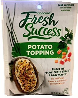 Concord Foods, Potato Topping, Original, 1.1oz Packet (Pack of 6)