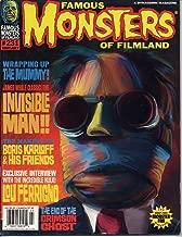 Famous Monsters of Filmland Magazine 231 INVISIBLE MAN Lou Ferrigno BORIS KARLOFF The Mummy HULK May 2000