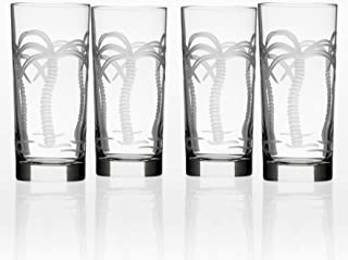 Rolf Glass 203010S/4 Palm Tree Cooler Glass, Clear