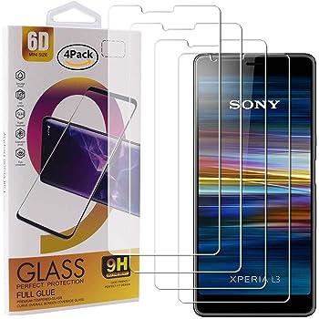 LK Protector de Pantalla para Sony Xperia L3 Cristal Templado, [3 ...