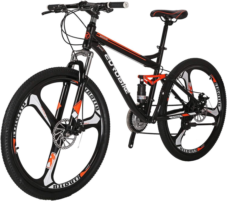 Mountain Bikes LZS727.5 Steel Bicycle disc Brake 21 Speed 3 Spoke Wheels Mountain Bikes