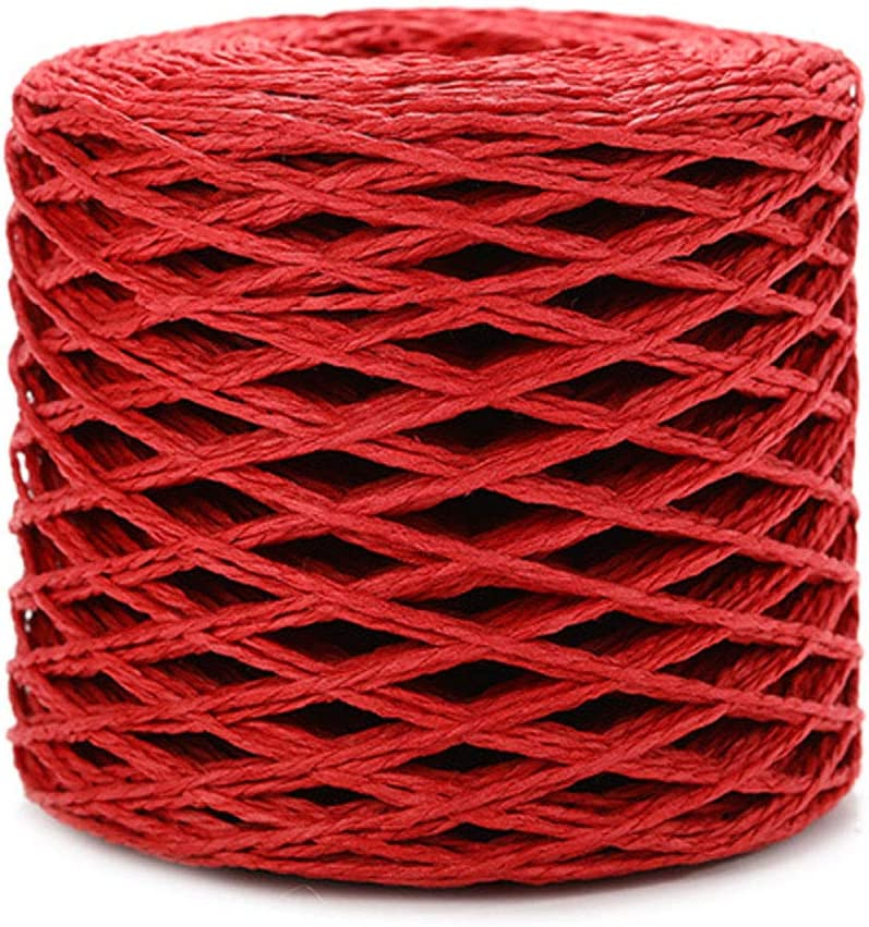 1 sale Roll Raffia Paper Ribbon 2mm Rope Wrapping [Alternative dealer] Twisted Packing Str