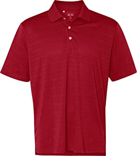 adidas Golf A161 Men's Climalite Textured Solid Polo