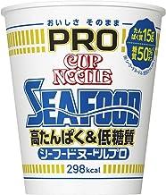 日清 カップヌードル PRO 高たんぱく&低糖質 シーフードヌードル 78g ×12個