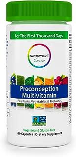 Rainbow Light Vibrance Preconception Multivitamin – 120 Count